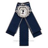 2018 DIY Brooch контактных ленточных ручной работы красивый свадебный ткань Brooch Rhinestone Crystal Reports для платья (BR-05)