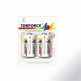 Батарея срока службы перезаряжаемые гидрида металла никеля C/Hr14 длинняя с Ce для игрушки