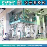 Aplicación ampliamente 40t/h de la línea de producción de pelets de alimentación con la prensa de pellet