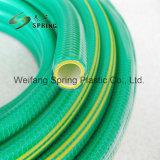 A fibra de plástico de PVC de alta qualidade de água reforçado trançado com mangueira de jardim