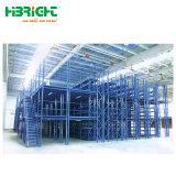 A armazenagem de paletes de mezanino de rack do armazém de serviço leve
