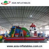 Castelo Bouncy do carro inflável novo do projeto com corrediça Comboo