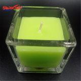 Candele di vetro Muti-Colorate del vaso da Soy Wax