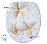 Bisagras estable, fácil de montar la madera de alta calidad Wc Inodoro