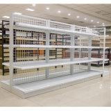 Doppelte Seiten-Draht-Rückseiten-Regal-Supermarkt-Netz-Ineinander greifen-Regale