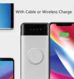Côté mobile 10000mAh de pouvoir de chargeur sans fil avec le remplissage sans fil de Qi