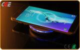 Cargador de batería sin hilos portable universal de los accesorios grises del teléfono móvil de Black+Dark para la carga sin hilos del teléfono móvil del cargador de la carga rápida de Smartphone hermosa