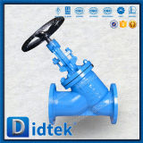 La bride de portée de Didtek Stellite termine le robinet d'arrêt sphérique de configuration de Y