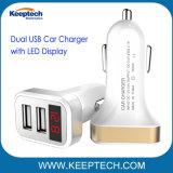 Двойной автомобильного зарядного устройства USB 3.1 светодиодный дисплей с 2 автомобильного зарядного устройства USB