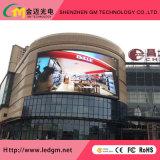 Alto brillo P6 (P8 P10mm) en el exterior en Color RGB LED fijo video wall
