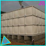 Niveles elevados de fibra de vidrio, acero de sección de FRP Depósito de agua, tanques de almacenamiento de agua de PVC SMC.