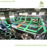 Corte de calidad superior del trampolín de Dodgeball, gimnasia grande del trampolín de la diversión