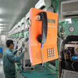 Cabine téléphonique de service bancaire du téléphone Knzd-23 d'antiquité extérieure publique de téléphone