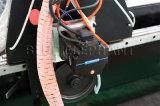青い象CNC 1337の木製の働き販売のための自動ファブリックストリップの革ルーターの打抜き機