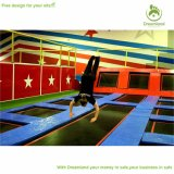 Colorful Wholesale Commercial Indoor Trampoline for Park Adults