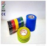 """De Professionele ElektroBand van uitstekende kwaliteit van de Rang, -10 tot 80 Graad, 3/4 """" X 33m de Kleverige Band van pvc"""
