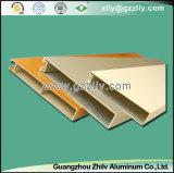 Techo del aluminio del bafle del Quadrate-Tubo del material de construcción