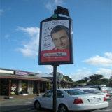 La calle al aire libre Farola mostrar publicidad Mupis Caja de luz