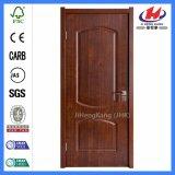 Interior em madeira maciça de madeira laminado de plástico da porta de PVC