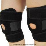 I materiali di alta qualità assorbe il supporto del ginocchio di sport del neoprene del sudore