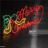 LED-Straßen-Motiv-Licht für Weihnachtsprojekt, bauend auf