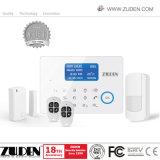 Segurança em casa inteligente sistema de alarme de intrusão GSM sem fio com o APP