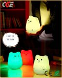 LED 테이블 램프 다채로운 귀여운 실리콘 동물성 Portable LED 밤 빛 홈 훈장 빛