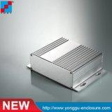 Gabinete de extrusión de aluminio con soporte de montaje hecho en China 104*47*L