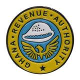 Distintivo di Pin della bandiera nazionale del distintivo della polizia del metallo personalizzato prezzo poco costoso