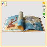 주문 색깔 두꺼운 표지의 책 아동 도서 인쇄