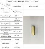 Cáscara de latón de aseguramiento de calidad de color verde de 532nm 30MW Módulo láser Acc