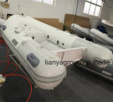 Barca di alluminio di velocità delle barche della nervatura della parte inferiore piana di Liya 2.4m-4.8m