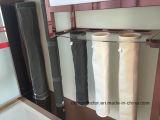 A caldeira não tecidos fábrica de cimento 850gsm pano de saco de filtro de fibra de vidro