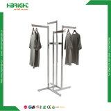 4 Metal exibindo roupas Dobrável do Braço para cabides
