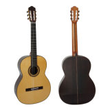 二重上のハイエンドハンドメイド型の固体古典的なギター