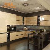 Кухня твердой древесины MDF MFC N&L самомоднейшая модульная для домашней мебели шкафа