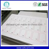 ISO 14443 eine Chipkarte mit A4 F08 Chip-Einlegearbeit