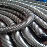 Los conductos de metal flexible de acero con recubrimiento de PVC gris