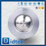Нержавеющая сталь CF8m Didtek определяет задерживающий клапан вафли Piate