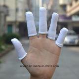 Berços do dedo do algodão da sala de limpeza dos berços do dedo branco