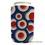 La piegatura americana 12oz del tubo ha stampato il dispositivo di raffreddamento personalizzato neoprene della latta di birra 330ml