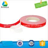 中国の製造者白く明確な二重味方された3mの泡テープ(BY6080W)