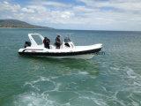 Liya 7.5m de Opblaasbare RubberRib van de Luxe van de Politie van de Boot van de Rib