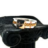 De hoge Ring van de Ketting van de Mens van de Vinger van de Juwelen van het Roestvrij staal van de Hoeveelheid