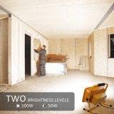 2 niveles de brillo de alta potencia de luz LED de trabajo, los faroles resistente al agua para el taller, obra de construcción