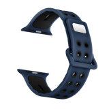 De zachte Band van het Horloge van de Kleur van de Sporten van het Silicone Dubbele voor Iwatch Series3