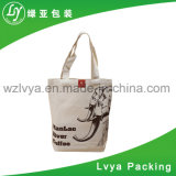 Sac à provisions clair de sacs d'emballage de coton de toile de PVC