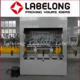 Eau de Javel droites linéaire automatique/remplissage de bouteilles le plafonnement de l'étiquetage de la machine d'emballage
