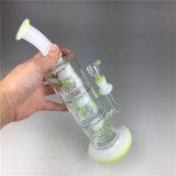 Bontek Tabak-Glasfertigkeit-Aschenbechervaporizer-Zigaretten-Huka-rauchendes Wasser-Rohr