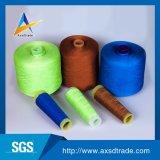 길쌈에게 뜨개질을 하기를 위한 염색된 높은 강인 폴리에스테 직물 자수 꿰매는 스레드